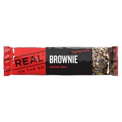 Real On The Go Brownie Energy Bar
