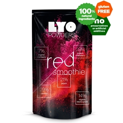 Lyofood Red Smoothie Mix 42 g - Bottle Size