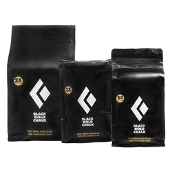 Black Diamond 100g Black Gold Chalk - Klätterkrita blandat med Upsalite