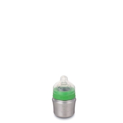 Klean Kanteen 148ml Kid Kanteen® Baby Bottle (W/Slow Flow Nipple) - Nappflaska i rostfritt stål