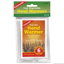 Coghlans Disposable Hand Warmers - 4-Pack - Handvärmare från Coghlans!