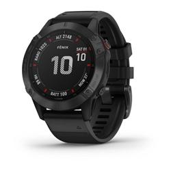 Garmin Fenix 6 Pro Black W/Black Band Gps Watch